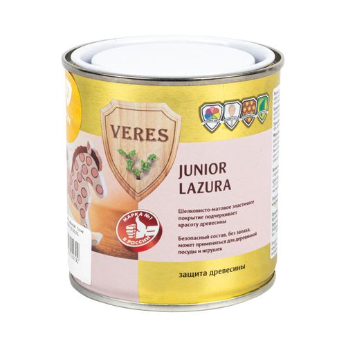 Пропитка Veres Junior Lazura алая 0,75 л