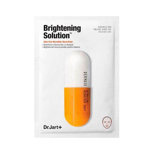 Осветляющая маска с глутатионом Dr.Jart+ Dermask Brightening Solution 1*30 г