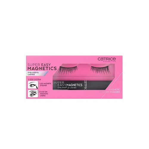 Подводка и накладные ресницы Catrice Super Easy Magnetics Eyeliner & Lashes т.020 Xtreme Attraction