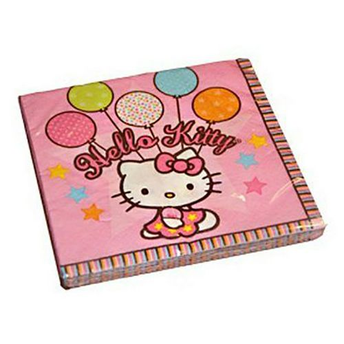 Салфетка Amscan Hello Kitty 33 см 16 шт