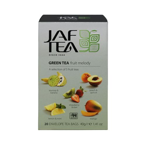 Чай зеленый Jaf Tea Melody в пакетиках 2 г х 20 шт