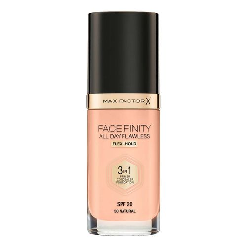 Тональная основа Max Factor Facefinity All Day Flawless 3 in 1 Foundation 50 natural 30 г