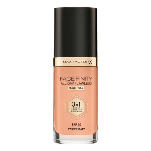Тональная основа Max Factor Facefinity All Day Flawless 3 in 1 Foundation 77 soft honey 30 г