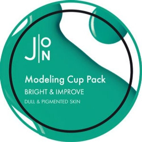 Маска для лица J:ON Bright & Improve Modeling Pack альгинатная 18 мл
