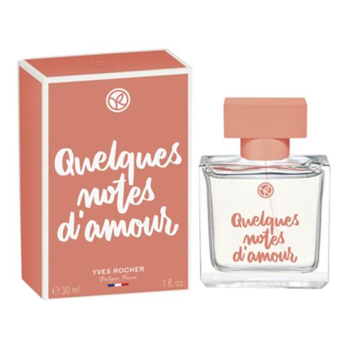 Парфюмерная вода Yves Rocher Quelques Notes d'Amour 30 мл
