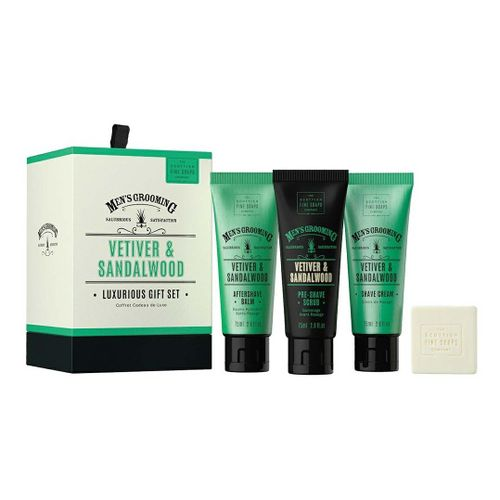 Набор подарочный Vetiver & Sandalwood Luxurious, Scottish Fine Soaps Limited, Великобритания