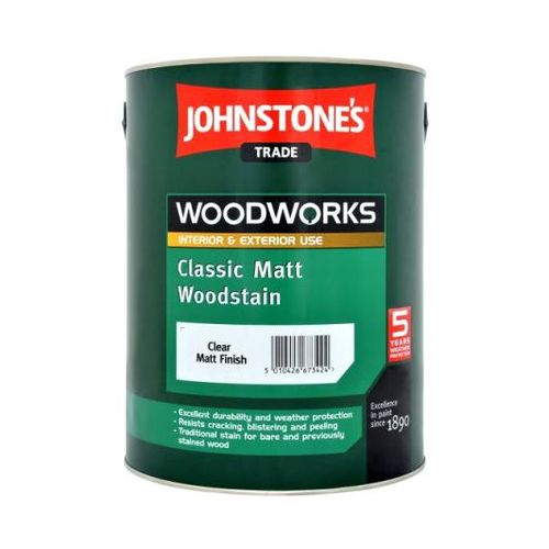 Лак Johnstone's Matt Woodstain Орех 2,5 л