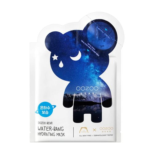 The Oozoo Bear Water-Bang Hydrating Mask+Ampoule