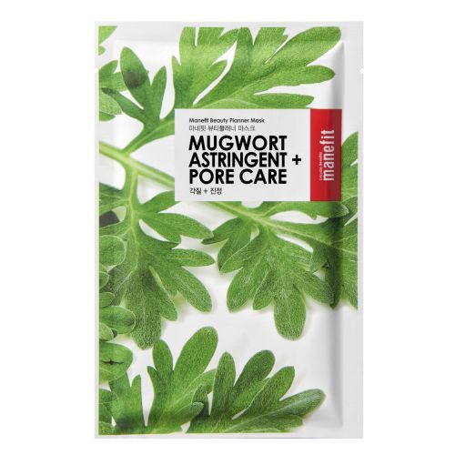 Manefit Beauty Planner Mugwort Astringent And Pore Care Mask