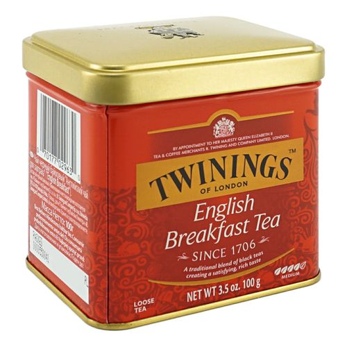 Чай черный Twinings English Breakfast листовой 100 г