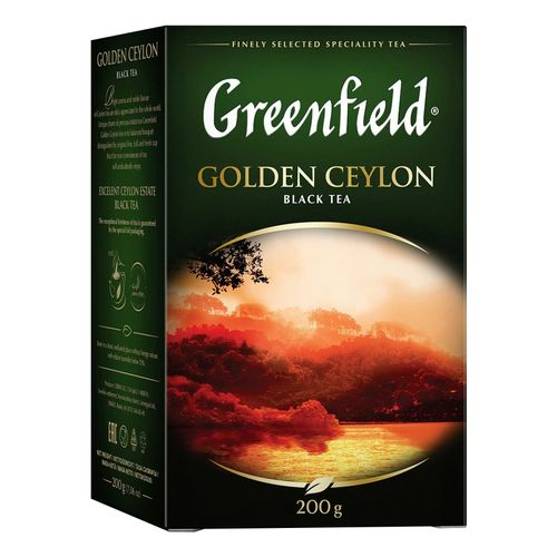 Чай черный Greenfield Golden Ceylon листовой 200 г